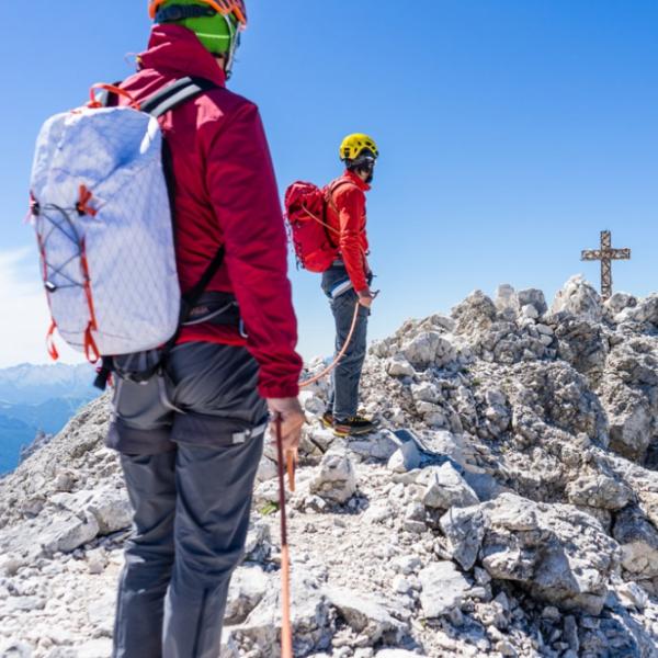 Hochgefühle am Klettersteig